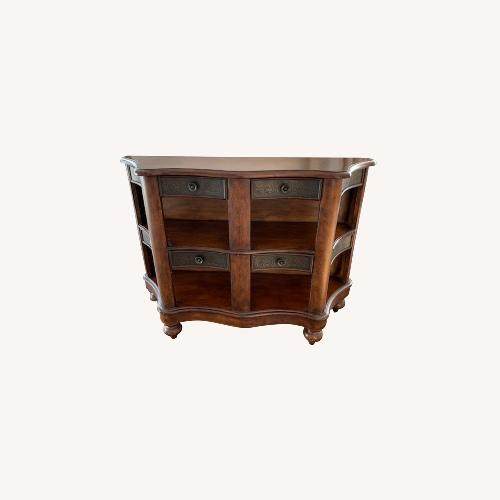 Used Peter Andrews Entry Table w/drawers for sale on AptDeco