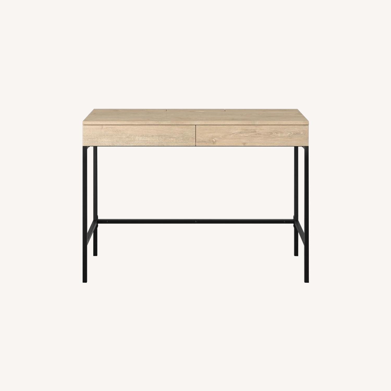 Target Loring Wood Desk with Drawers - image-0