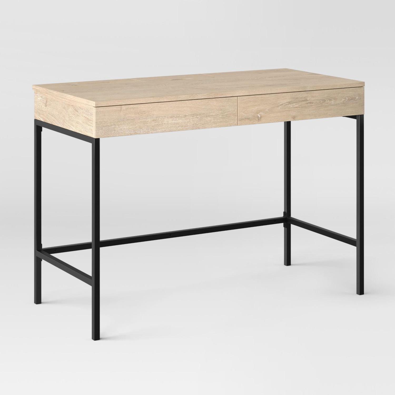 Target Loring Wood Desk with Drawers - image-3