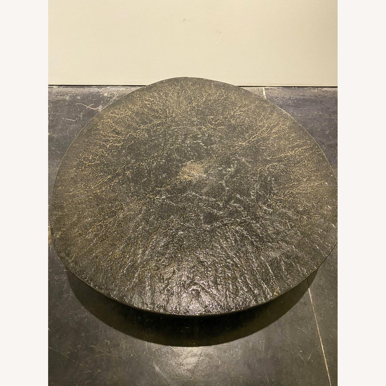 Vintage Coffee Table Black Stone - image-4