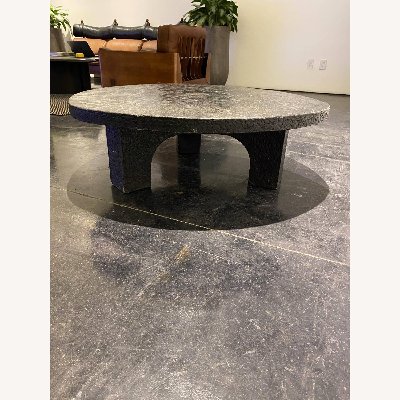Vintage Coffee Table Black Stone - image-2
