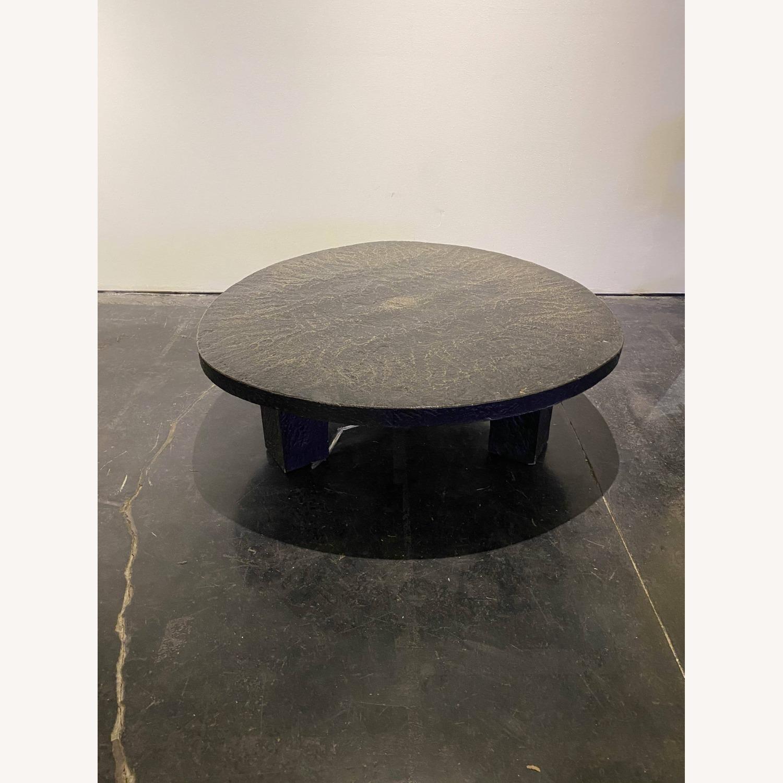 Vintage Coffee Table Black Stone - image-5