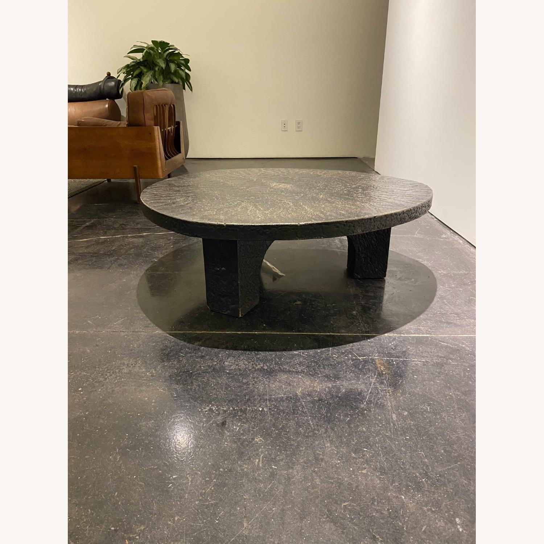 Vintage Coffee Table Black Stone - image-3