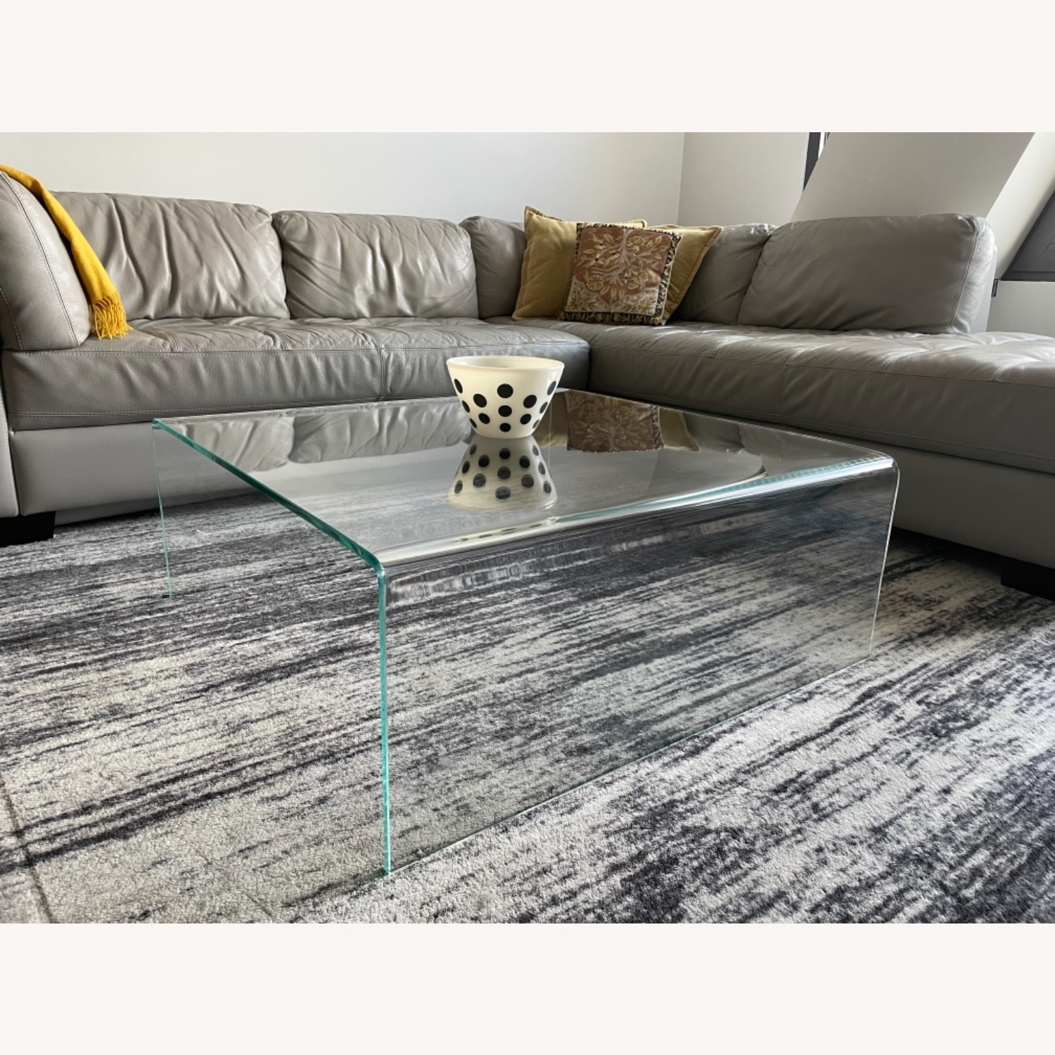 ABC Carpet Home Glass Coffee Table - image-1