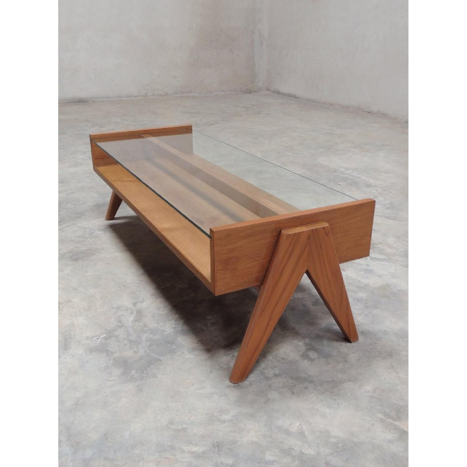 Coffee Table from Pierre Jeanneret Reproduction - image-6