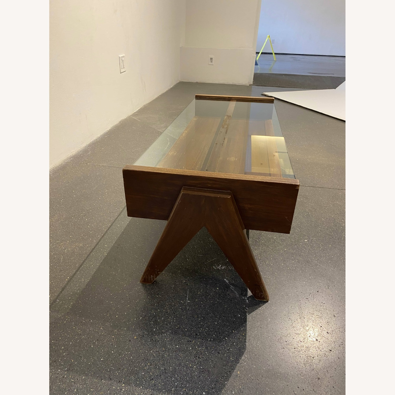 Coffee Table from Pierre Jeanneret Reproduction - image-1