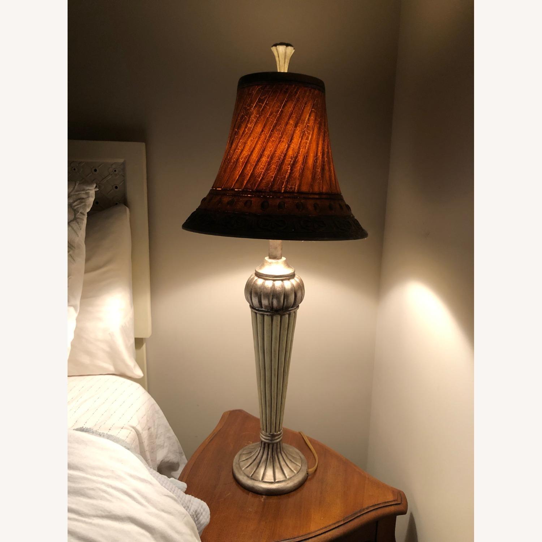 Uniquely Finished Lamp - image-5