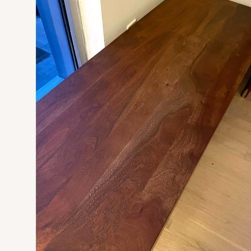 Used CB2 Acacia Wood Storage Trunk for sale on AptDeco