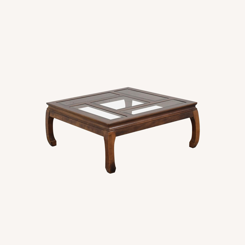 Panel Top Coffee Table - image-0