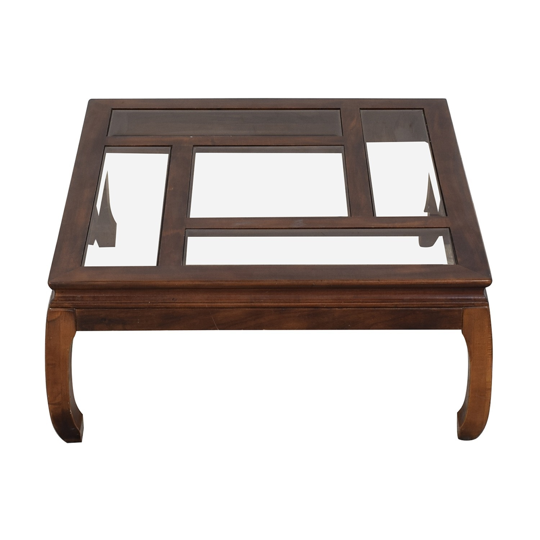 Panel Top Coffee Table - image-7