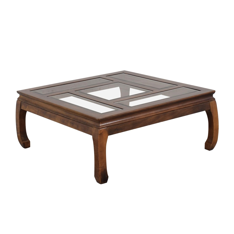 Panel Top Coffee Table - image-8