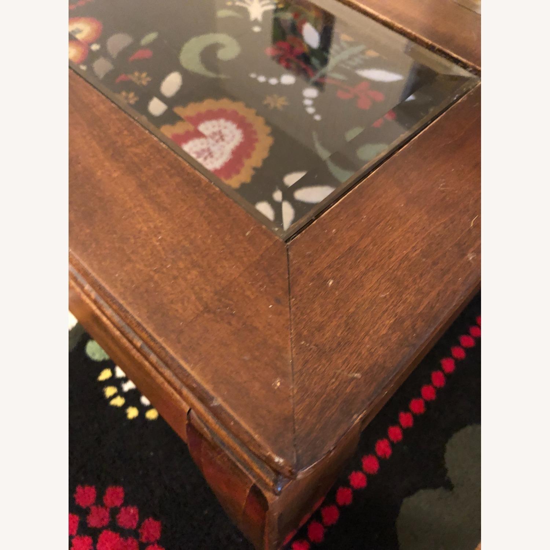 Panel Top Coffee Table - image-2