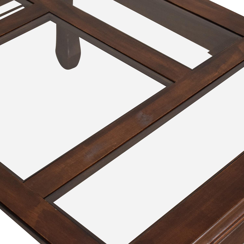 Panel Top Coffee Table - image-9