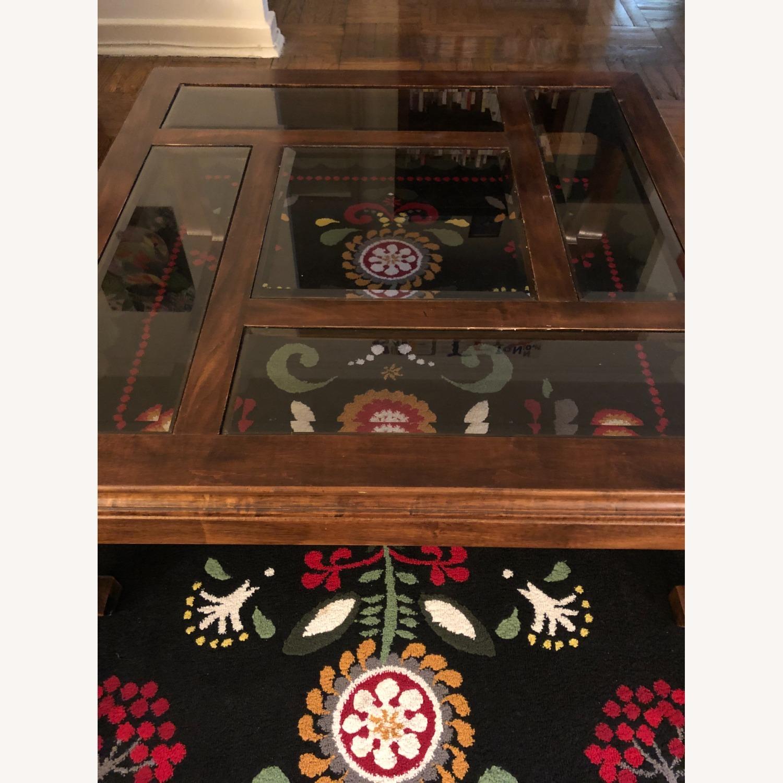 Panel Top Coffee Table - image-1
