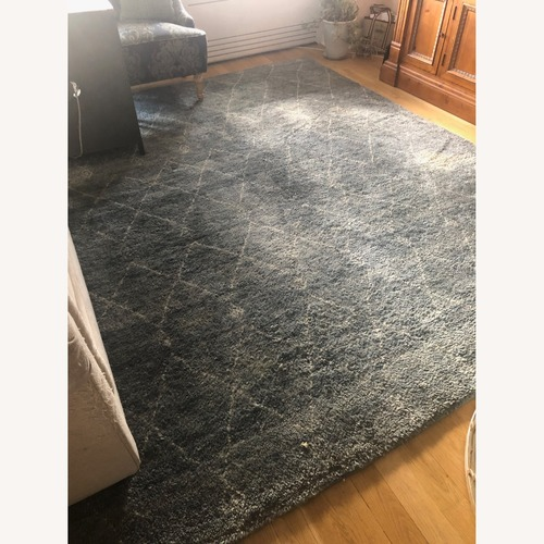 Used Williams Sonoma Moroccan Rug for sale on AptDeco