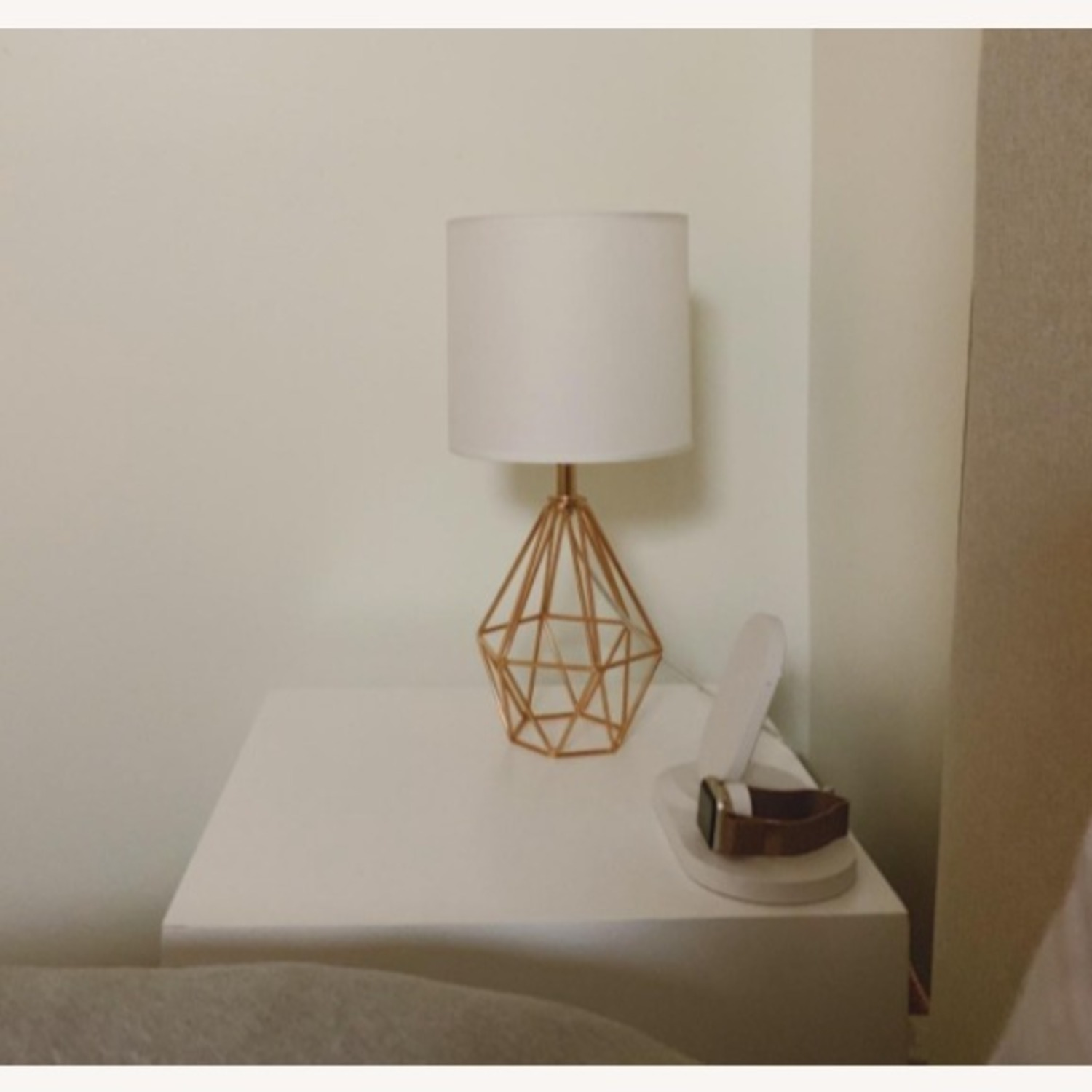 Modern Chic Desk Table Lamp with Gold Metal Base - image-3