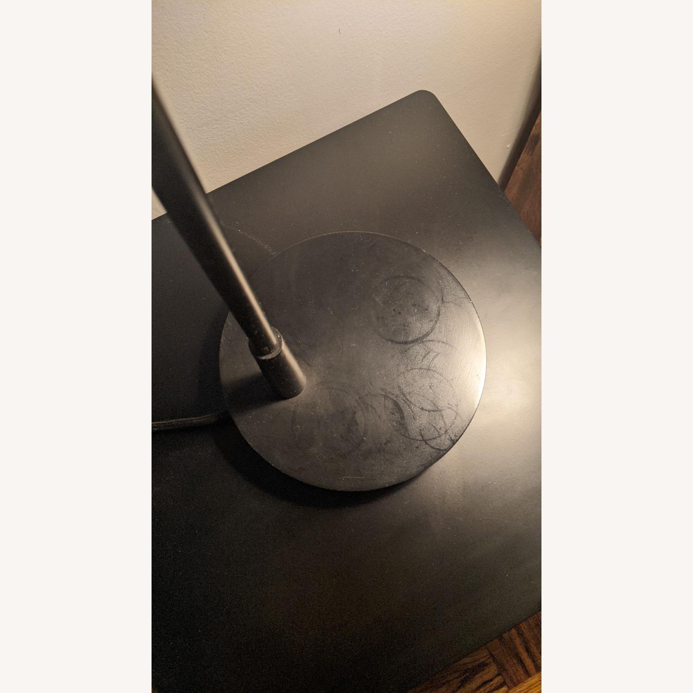 Crate & Barrel Morgan Black Metal Desk Lamp - image-1