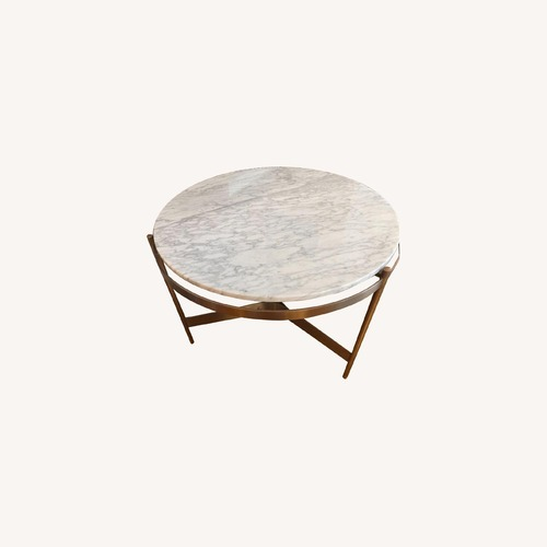 Used ABC HOME Nesting Marble Coffee Tables for sale on AptDeco