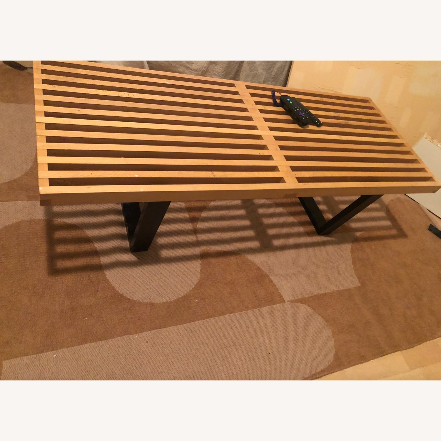 George Nelson Mid-Century Classic Bench - image-2