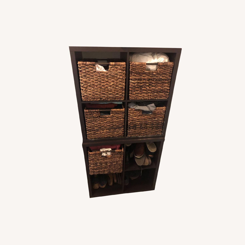 Target Cubbie Storage with Baskets - image-0