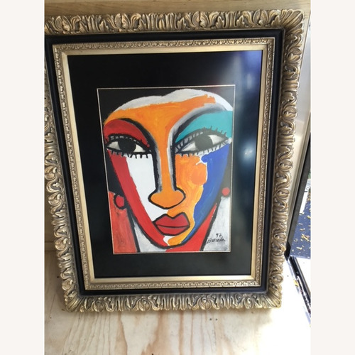 Used Painting signed by Artist for sale on AptDeco