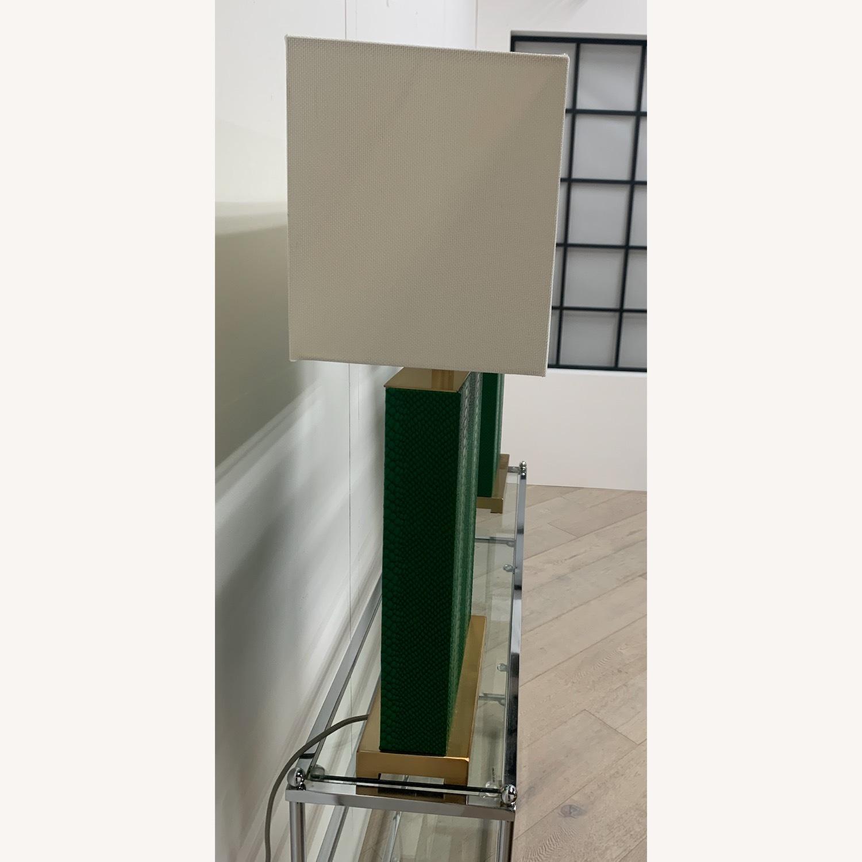 Safavieh Faux Snakeskin Lamps - image-2