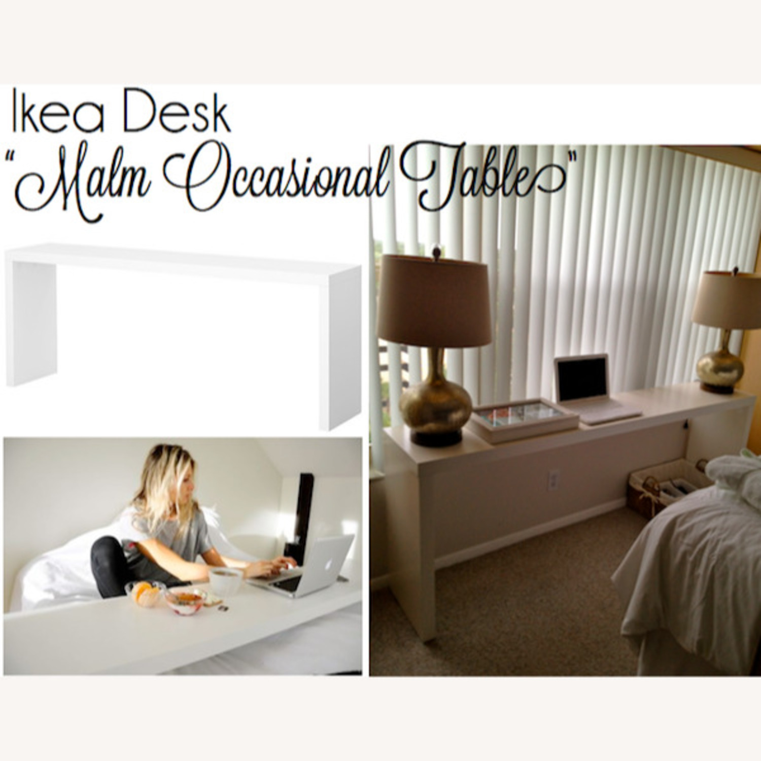 Ikea Over The Bed Rolling Table Sliding Aptdeco