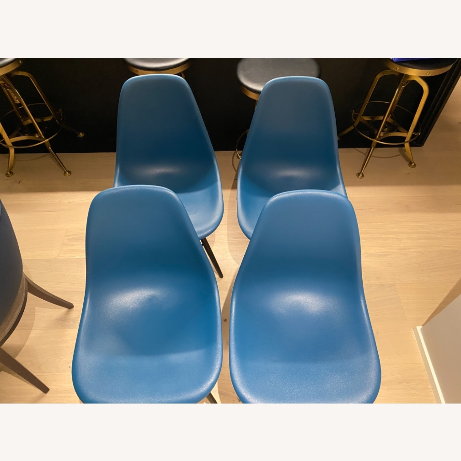 4 x Herman Miller Eames Molded Plastic Side Chair - image-21