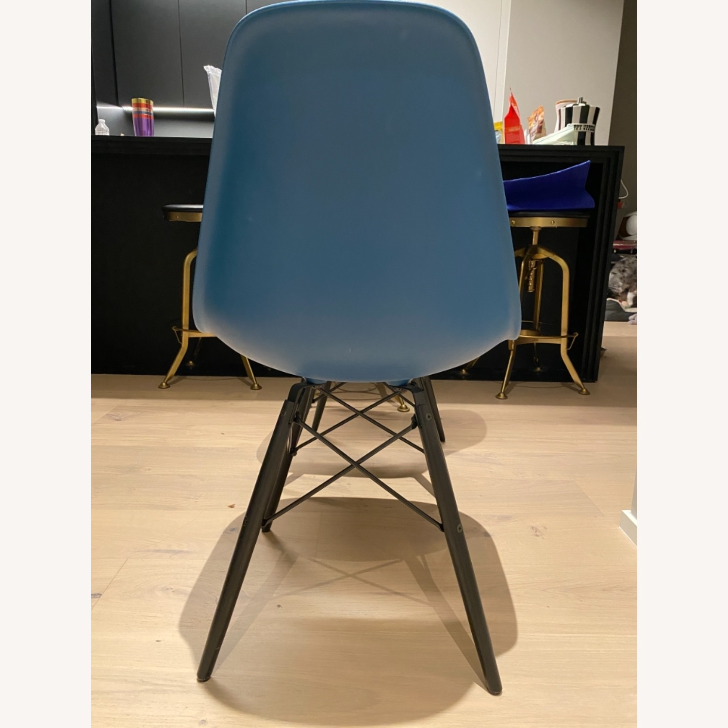 4 x Herman Miller Eames Molded Plastic Side Chair - image-8