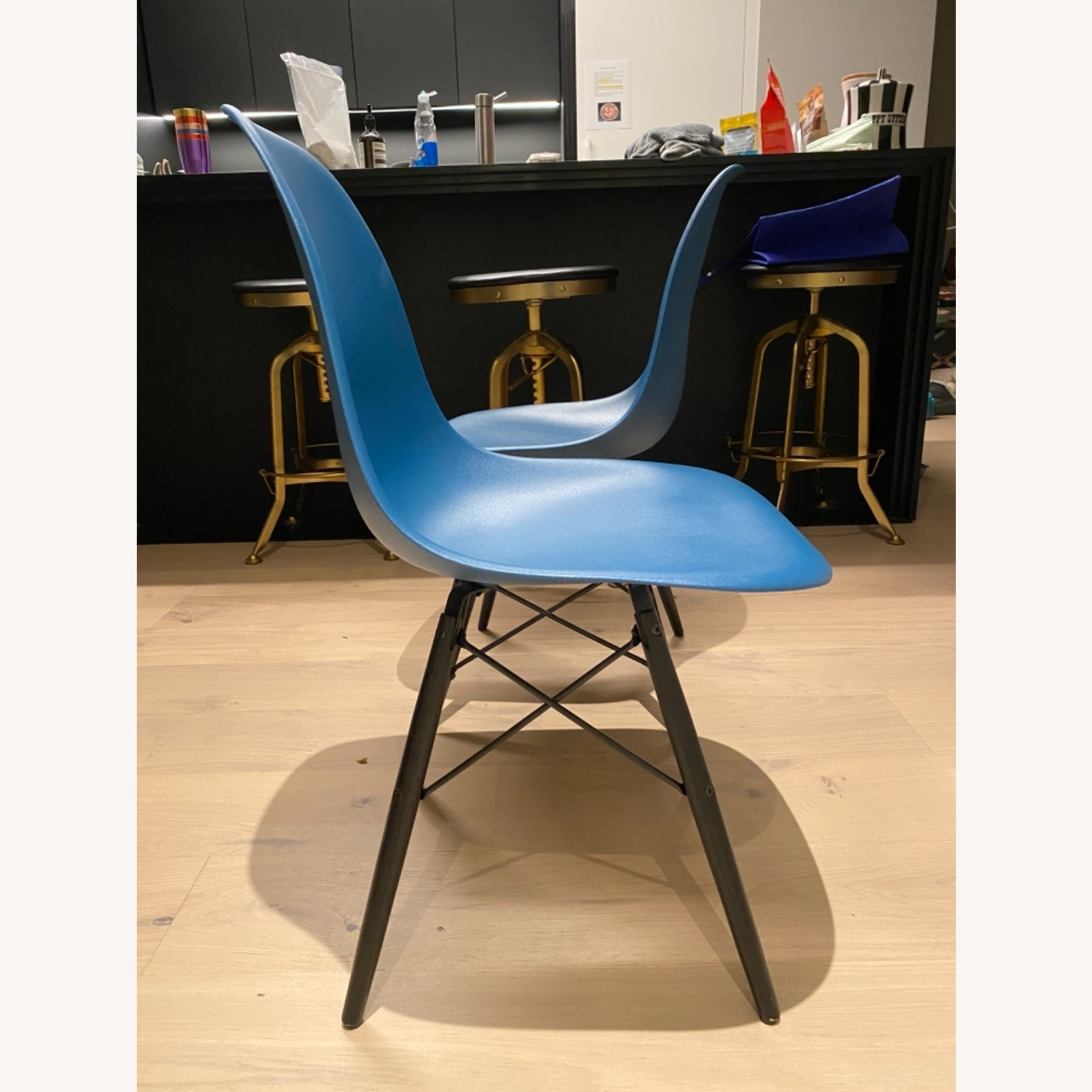 4 x Herman Miller Eames Molded Plastic Side Chair - image-13