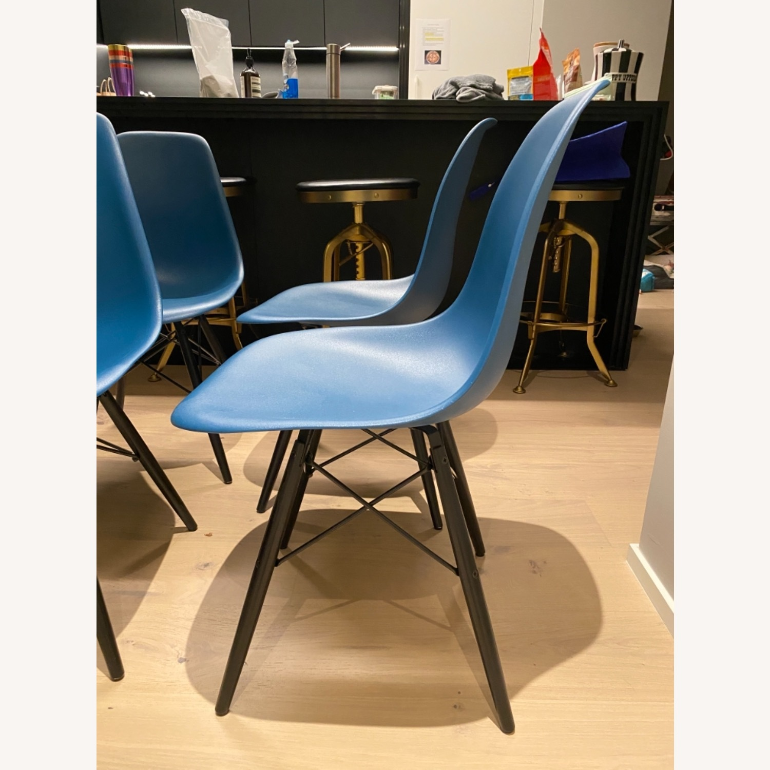 4 x Herman Miller Eames Molded Plastic Side Chair - image-18
