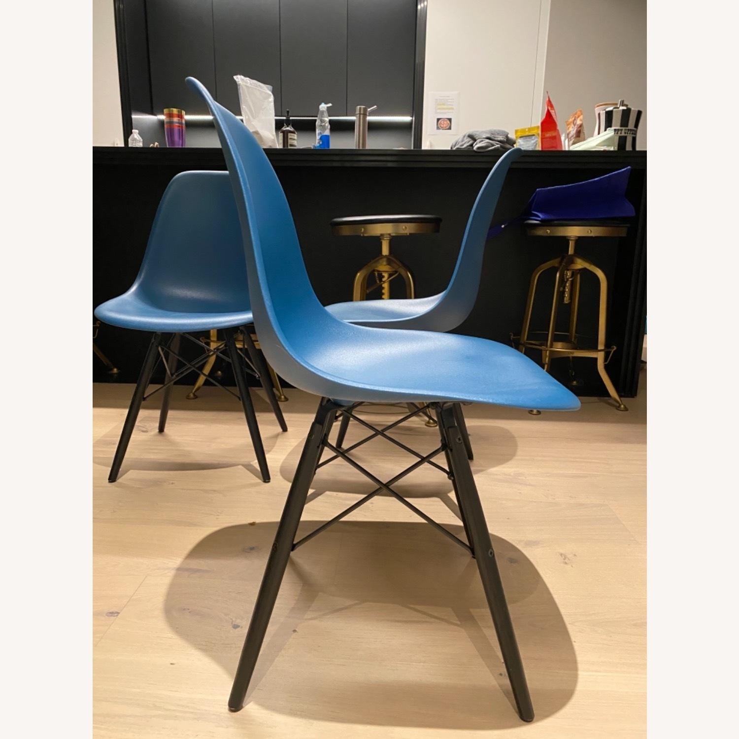4 x Herman Miller Eames Molded Plastic Side Chair - image-16