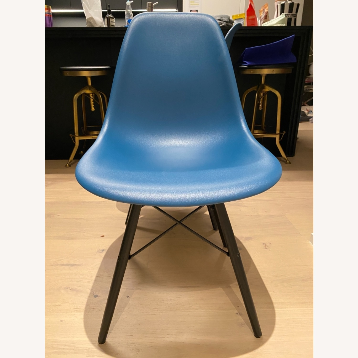 4 x Herman Miller Eames Molded Plastic Side Chair - image-11