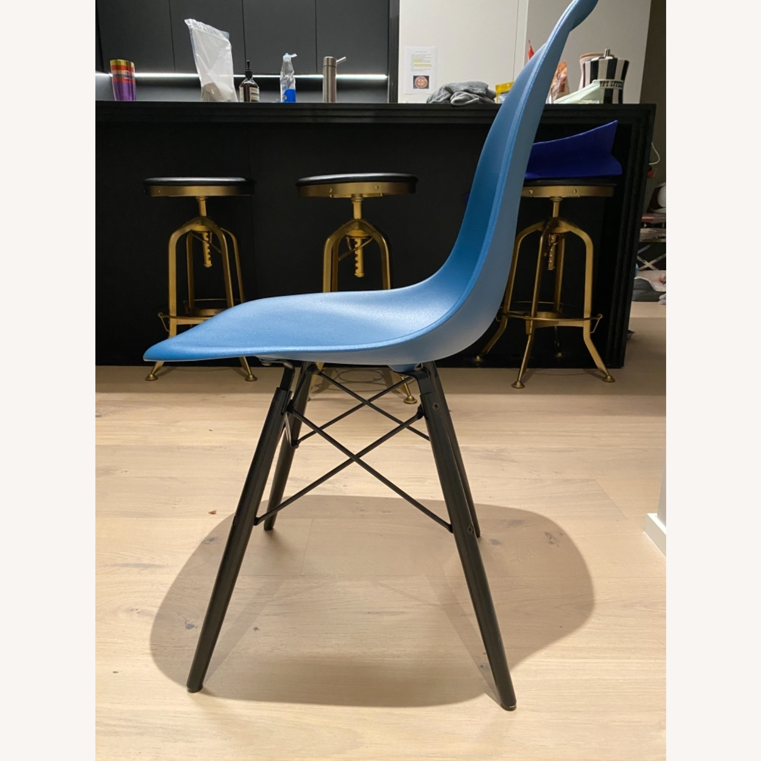 4 x Herman Miller Eames Molded Plastic Side Chair - image-6