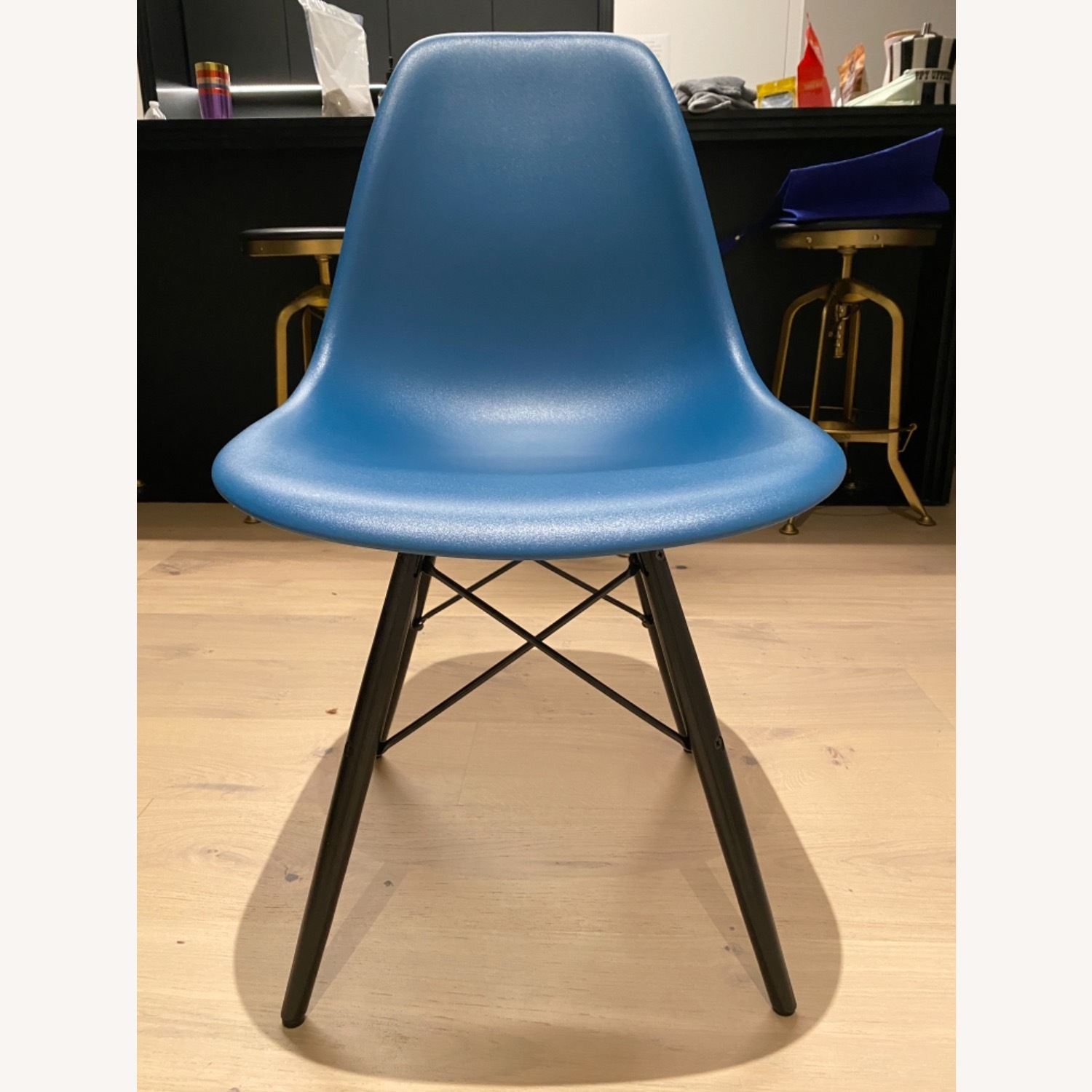 4 x Herman Miller Eames Molded Plastic Side Chair - image-5
