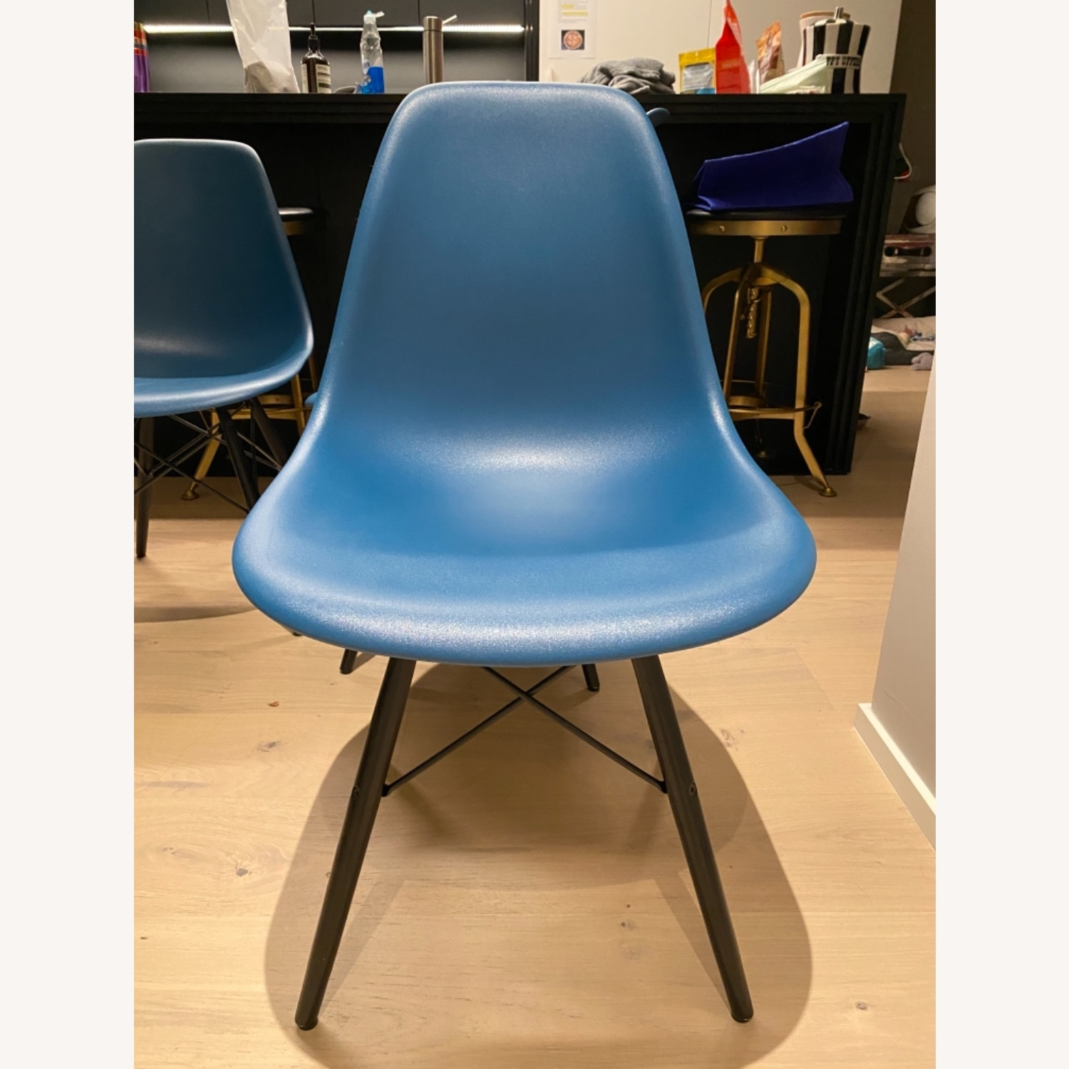 4 x Herman Miller Eames Molded Plastic Side Chair - image-15