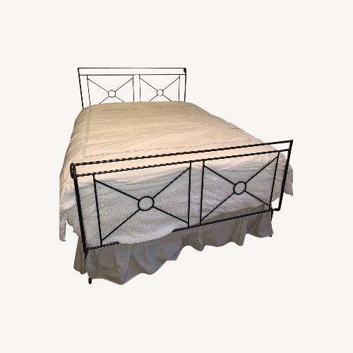 Used Iron Bed Frame for sale on AptDeco