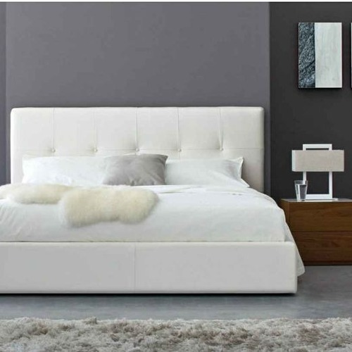 Used Calligaris Swami Fully-Upholstered Bed for sale on AptDeco