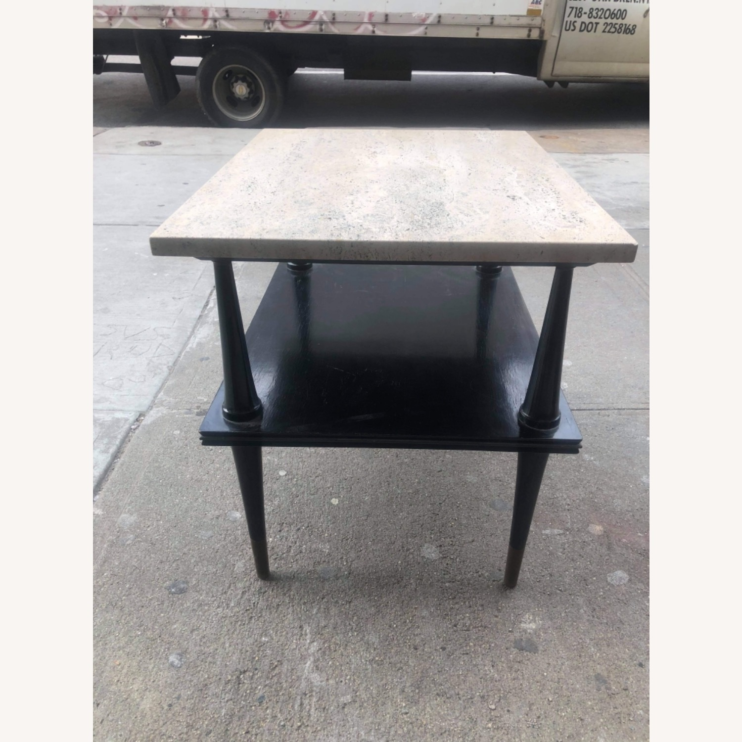 Mid Century 1950s Marble Top Coffee Table - image-8