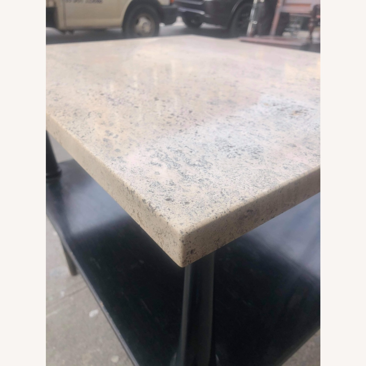 Mid Century 1950s Marble Top Coffee Table - image-6