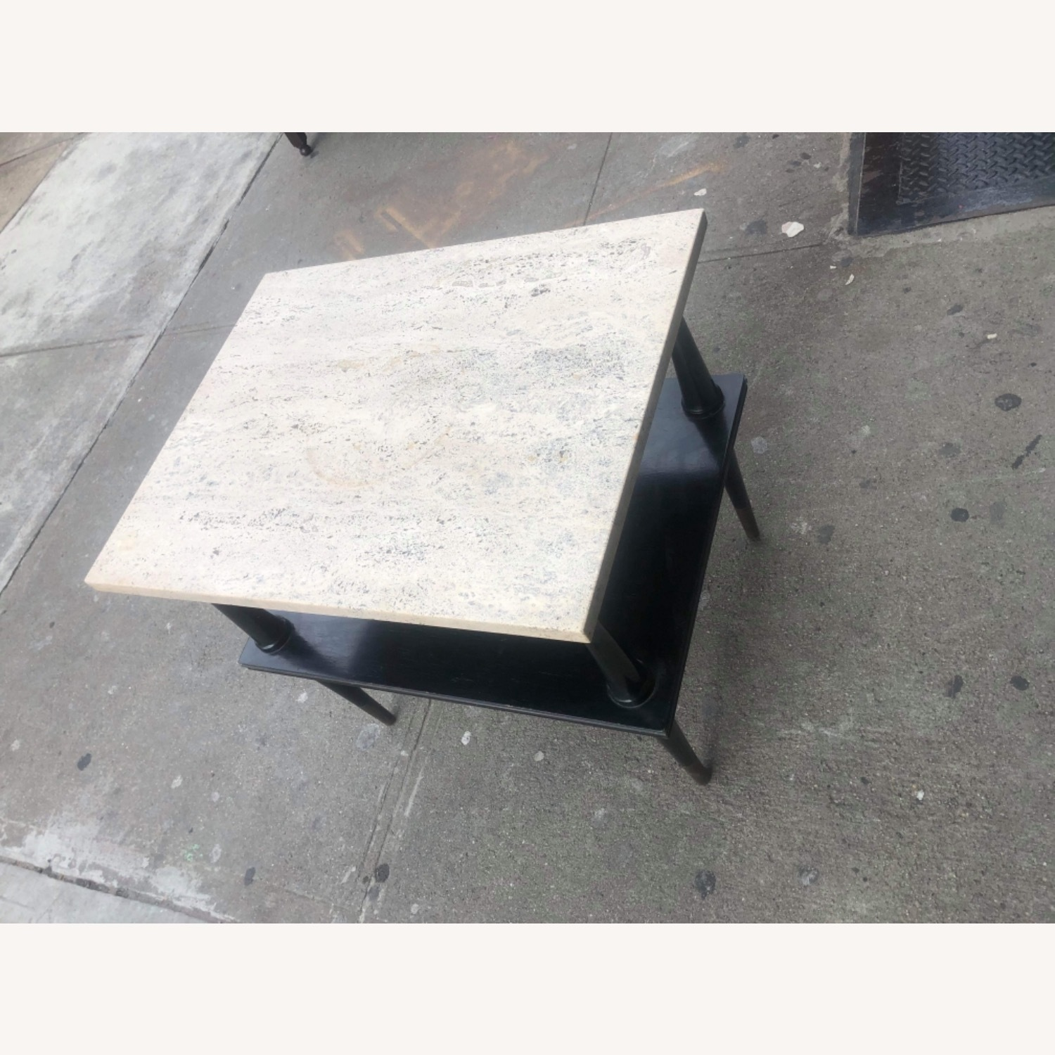 Mid Century 1950s Marble Top Coffee Table - image-5