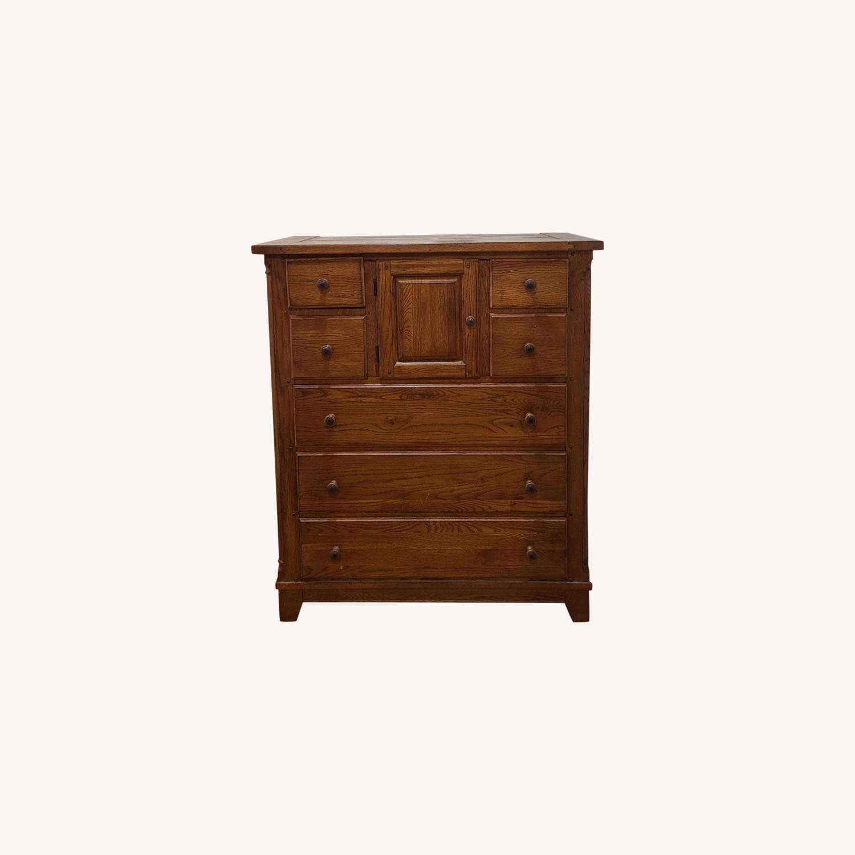Solid Wood Dresser - image-0