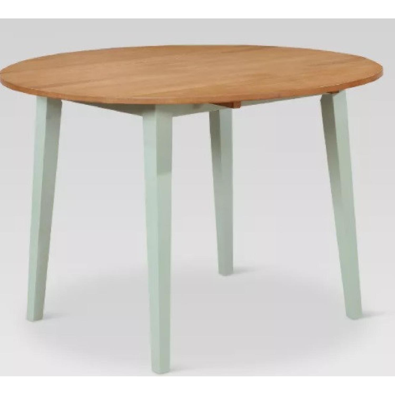 Target Carey Round Drop Leaf Table - image-4