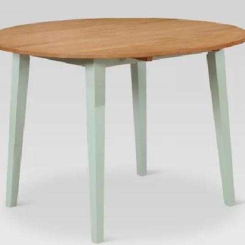 Used Target Carey Round Drop Leaf Table for sale on AptDeco