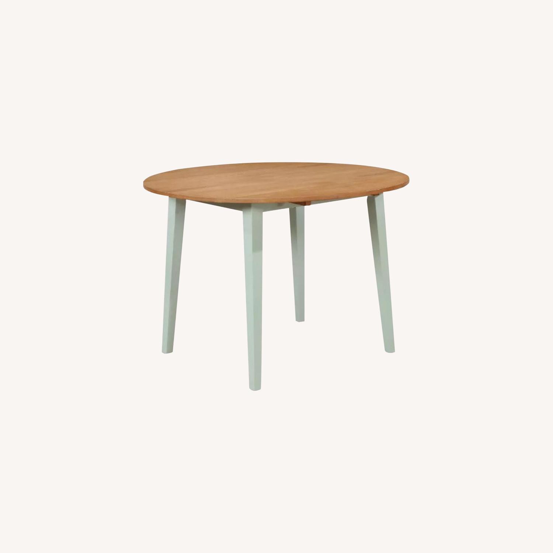 Target Carey Round Drop Leaf Table - image-0