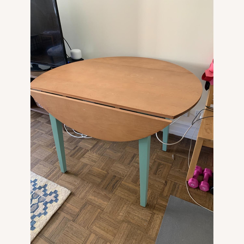 Target Carey Round Drop Leaf Table - image-3