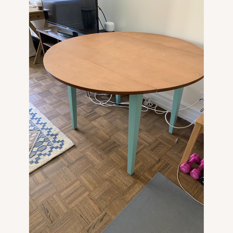 Target Carey Round Drop Leaf Table - image-1