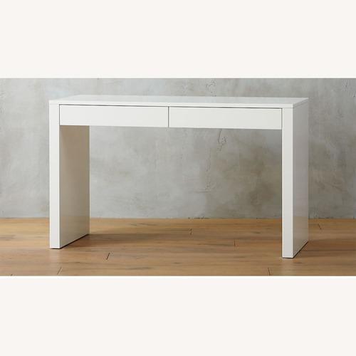 Used CB2 Runway White Desk for sale on AptDeco