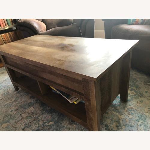 Used Sauder Pop-Top Coffee Table for sale on AptDeco