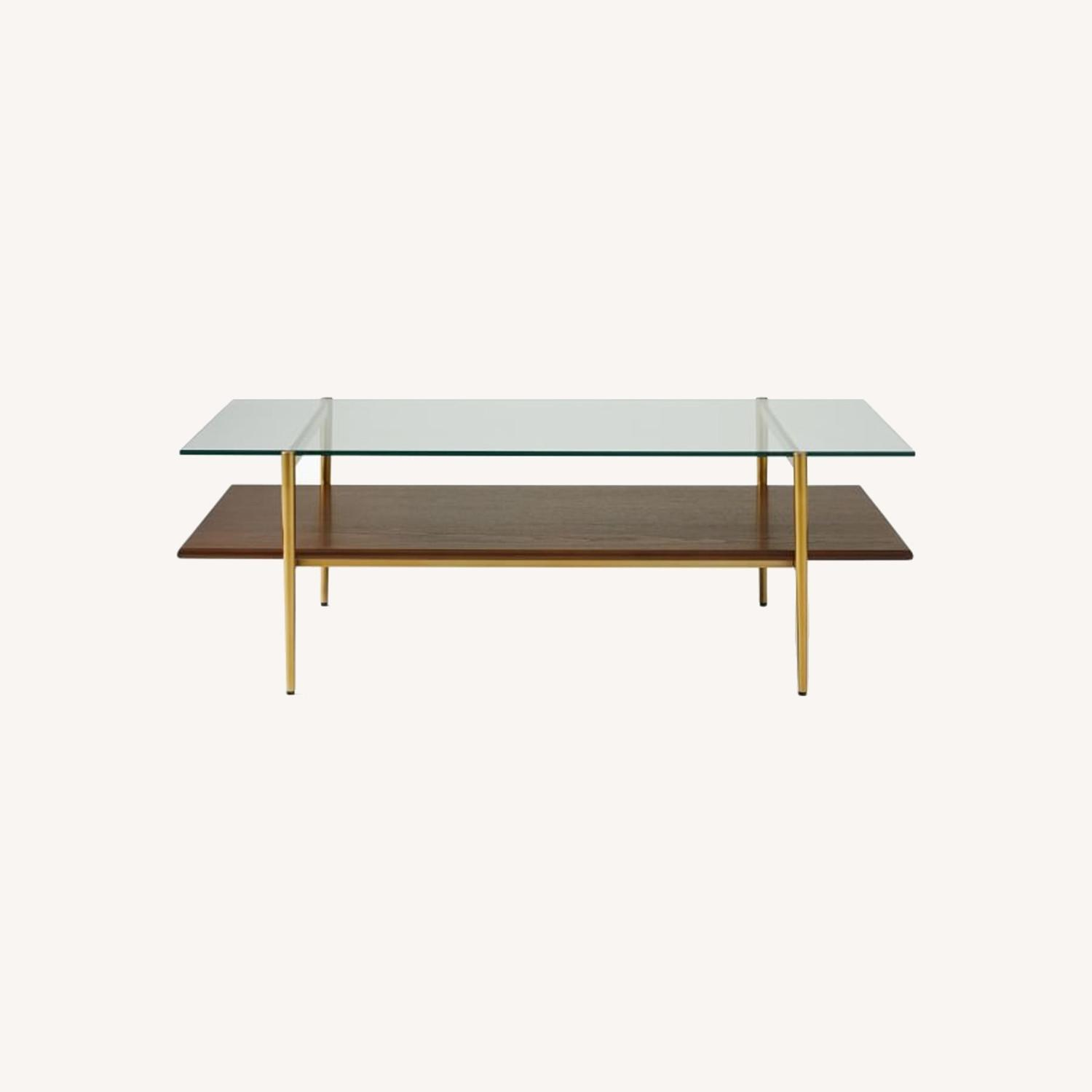 West Elm Art Display Coffee Table - image-0